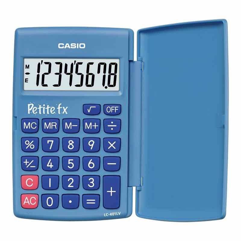 Kalkulaator CASIO LC-401, sinine