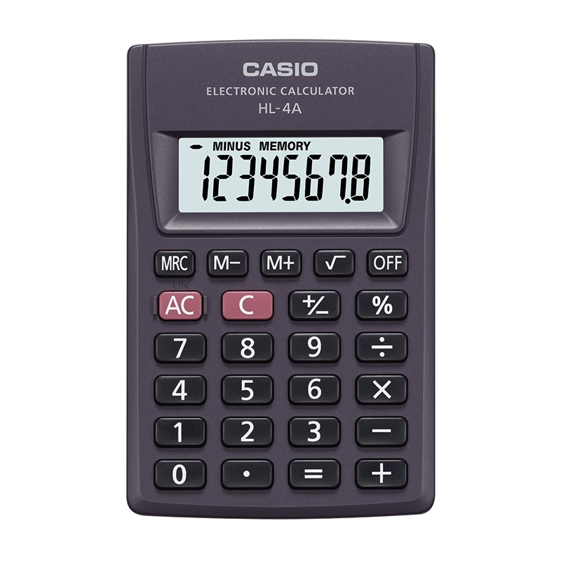 Kalkulaator CASIO HL-4A