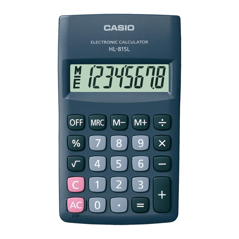 Kalkulaator CASIO HL-815L, must