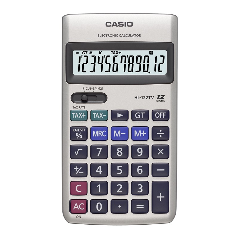 Kalkulaator CASIO HL-122TV-S-EH