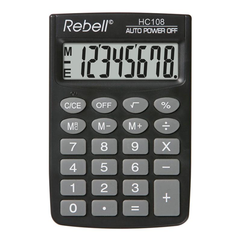 Kalkulaator REBELL RE-HC108 BX