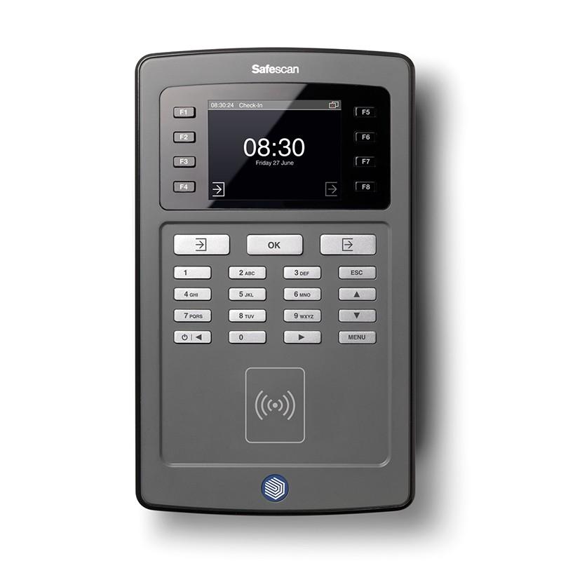 Läbipääsu- ja tööajaarvestuse süsteem Safescan TA-8010, must
