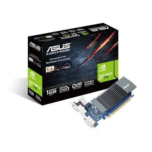 ASUS GT710-SL-1GD5-BRK graafikakaart NVIDIA GeForce GT 710 1 GB GDDR5