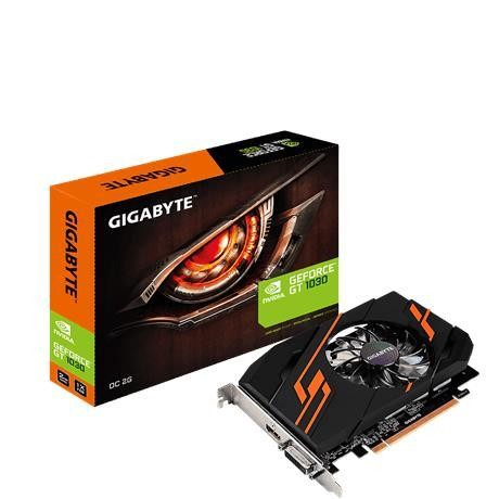 Gigabyte GV-N1030OC-2GI graafikakaart NVIDIA GeForce GT 1030 2 GB GDDR5