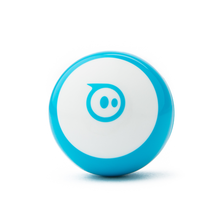 Sphero Mini App-enabled Robotic Ball - Robot  Blue/ white, Plastic, No