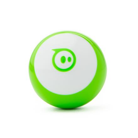 Sphero Mini App-enabled Robotic Ball - Robot Green/ white, Plastic, No