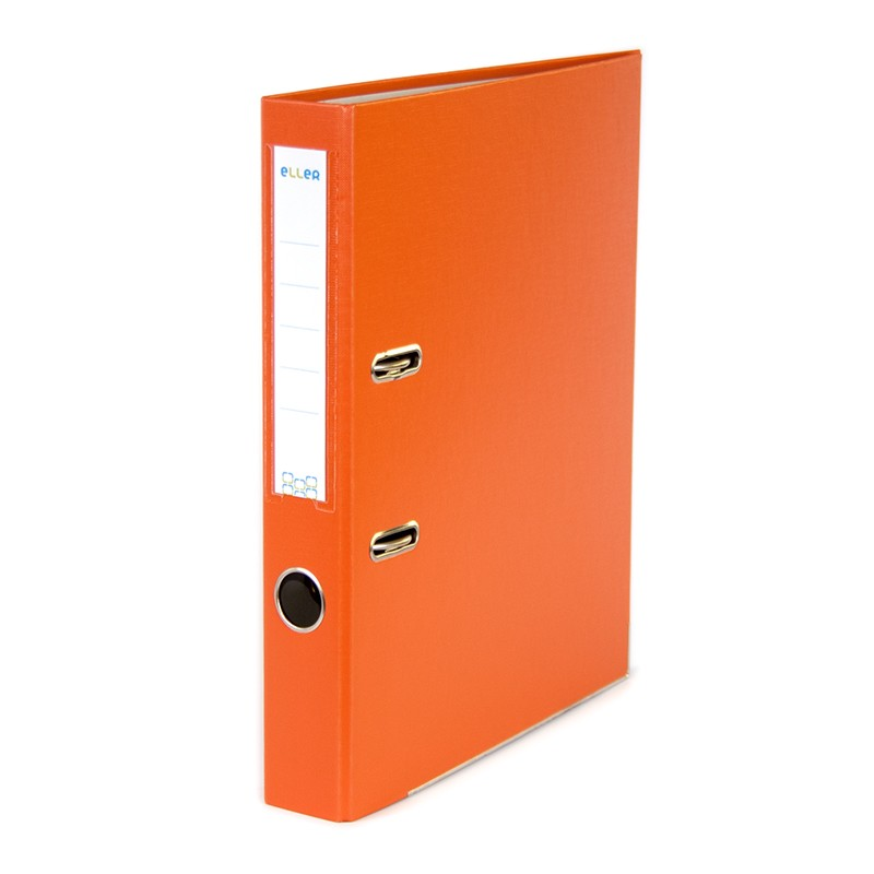 Registraator ELLER Eko A4, 50mm metallist allserv, oranž