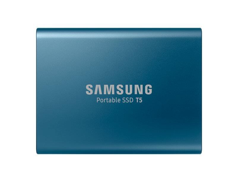 Samsung T5 500 GB Sinine