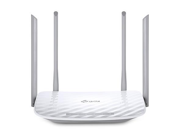 TP-LINK Archer C50 juhtmevaba ruuter Kaks sagedusala (2,4 GHz / 5 GHz) Kiire Ethernet Must