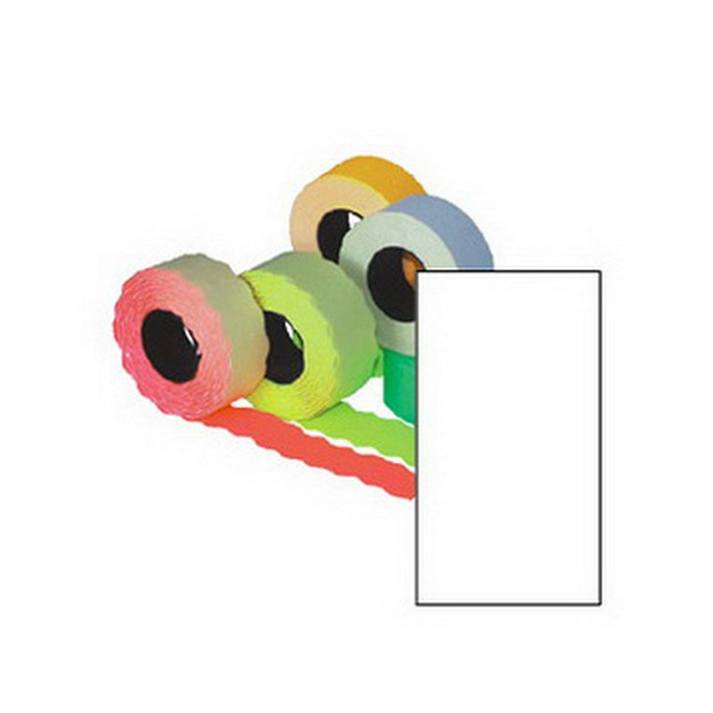 Markeerimislindid 26x16mm, valge/kandiline, 5tk