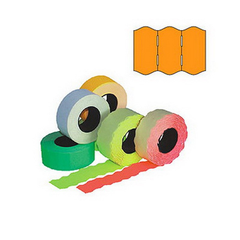 Markeerimislindid 26x16mm, oranž/ümar, 5 tk