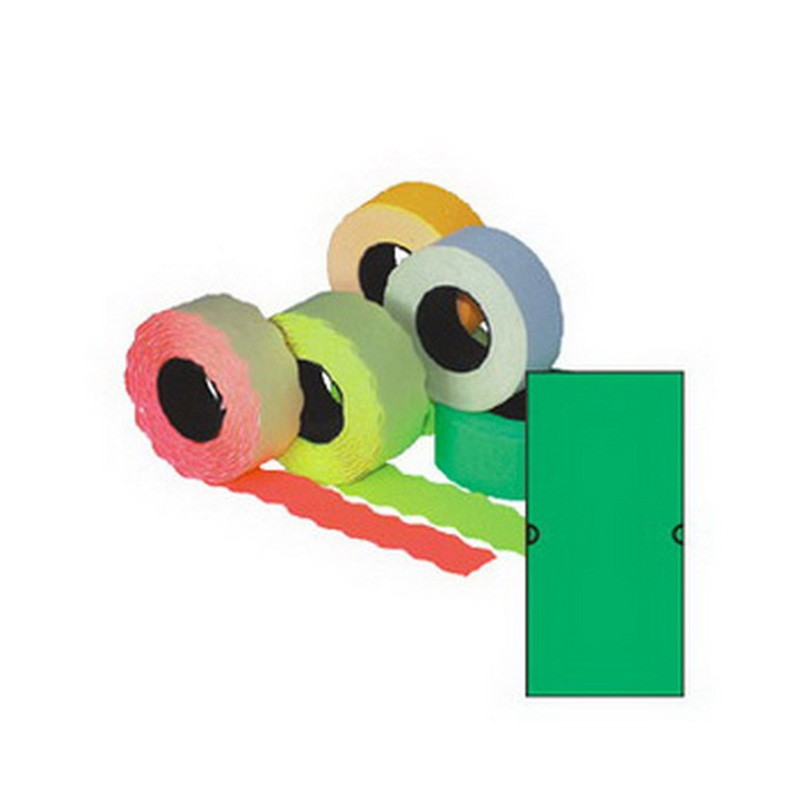 Markeerimislindid 21,5x12mm, roheline/kandiline, 5 tk