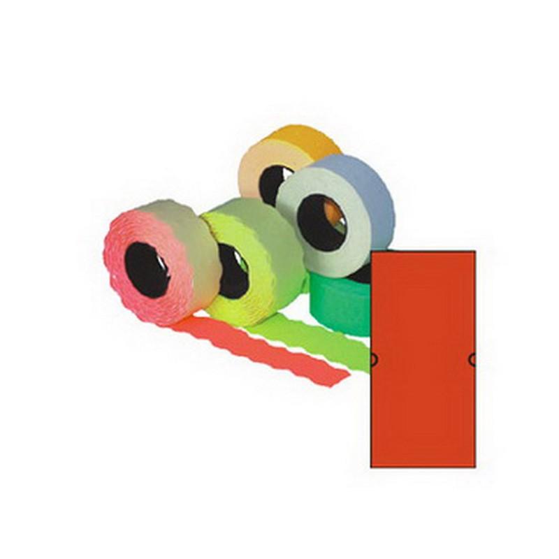 Markeerimislindid 21,5x12mm, punane/kandiline, 5 tk