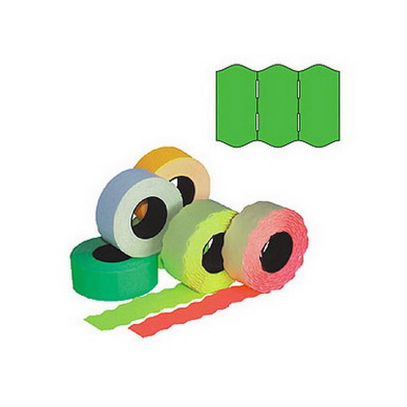 Markeerimislindid 26x16mm, roheline/ümar, 5 tk