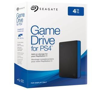 Seagate Game Drive STGD4000400 väline kõvaketas 4000 GB Must