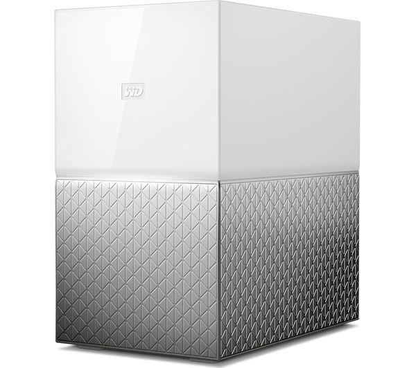 NAS STORAGE COMPACT 2BAY/8TB WDBMUT0080JWT-EESN WDC