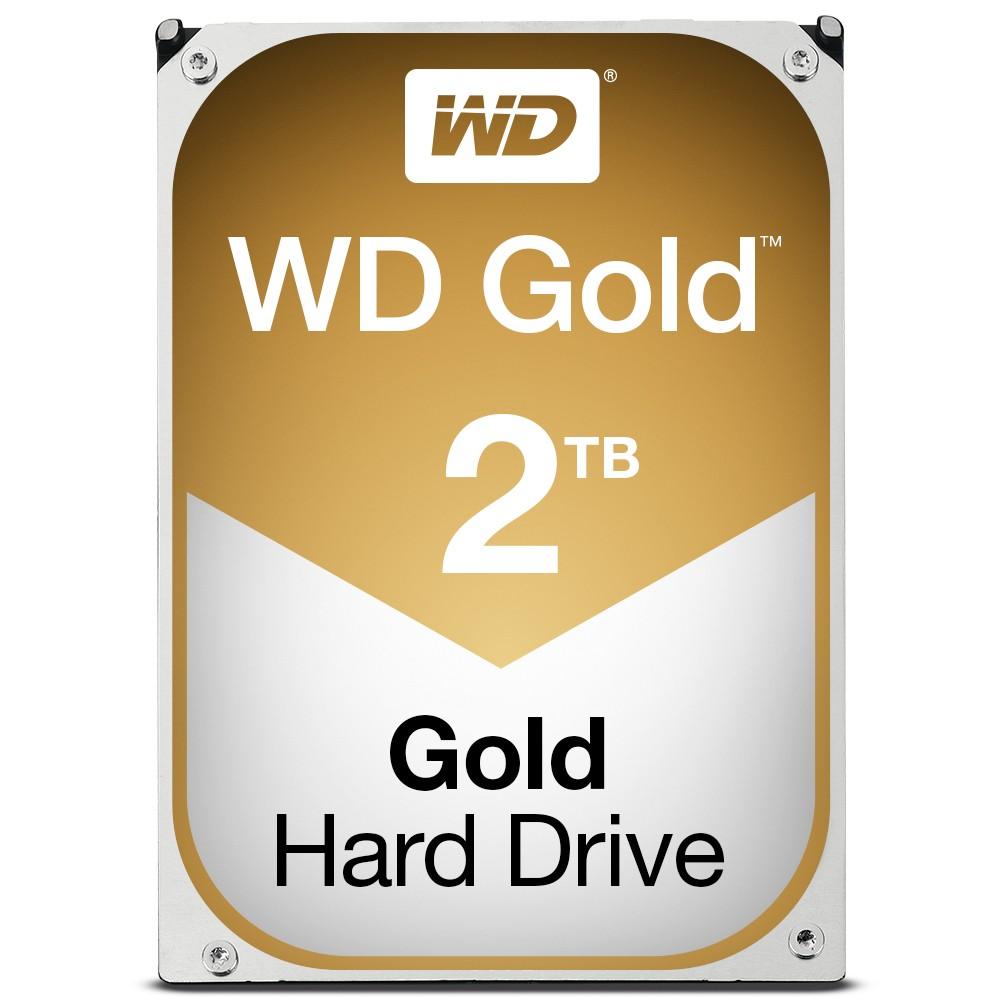 WD Gold 2TB HDD sATA 6Gb/s 512n
