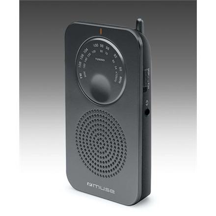 Muse Pocket radio M-01 RS Black