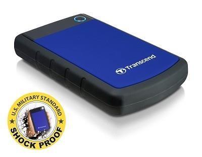 External HDD|TRANSCEND|StoreJet|1TB|USB 3.0|Colour Blue|TS1TSJ25H3B