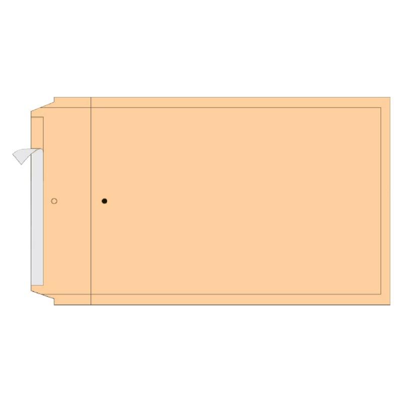 Turvaümbrik AirPro, K20, Nr.10, sisem. 350x470 mm, pruun