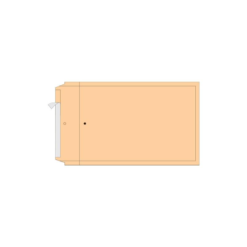 Turvaümbrik AirPro, B12, Nr.2, sisem. 120x215 mm, pruun
