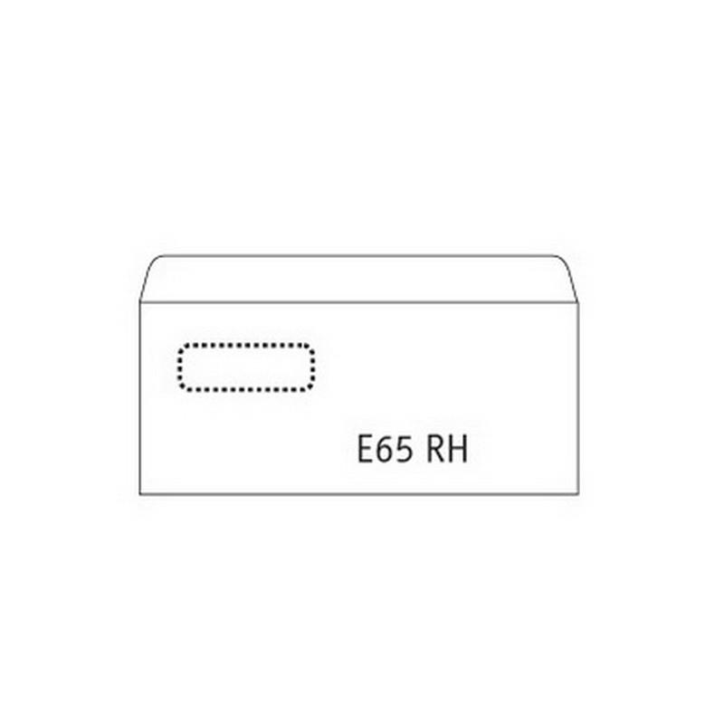 Ümbrikud Postac aknaga (60x90) E65 RH 110x220, 1000tk