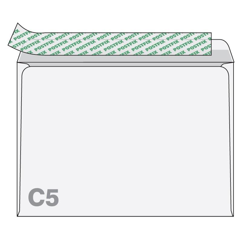 Ümbrikud Postfix C5 RH 162 x 229 mm, 25 tk