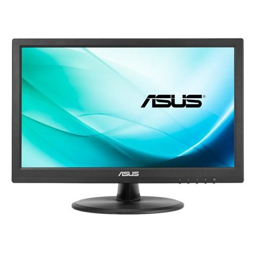 "Asus Touch LCD VT168N 15.6 "", TN, 1366 x 768 pixels, 16:9, 10 ms, 200 cd/m², Black, D-Sub, DVI-D, 10-point Touch, Flicker free, Low Blue Light"