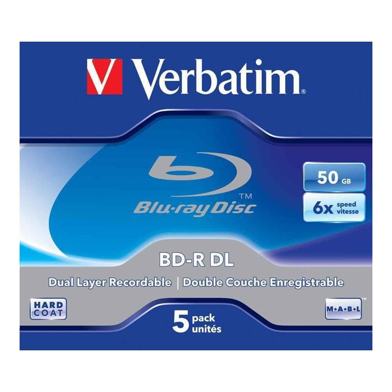 Blu-ray Disc BD-R kahekihiline 50 GB, VERBATIM,  6x