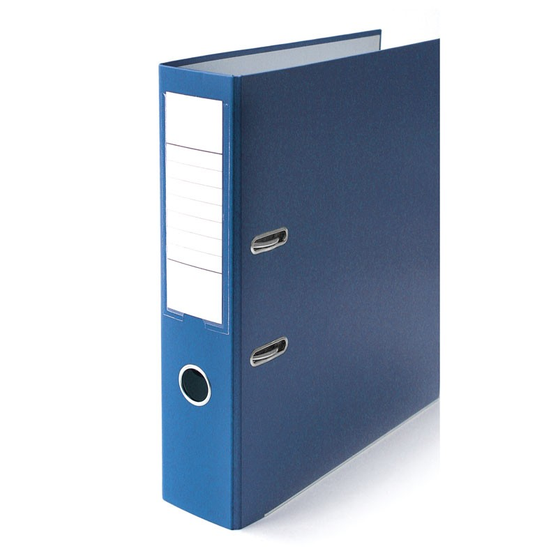 Registraator ELLER Eko A4, 75mm metallist allserv, sinine