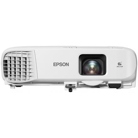 Epson Mobile Series EB‑2042 XGA (1024x768), 4400 ANSI lumens, 15.000:1, White