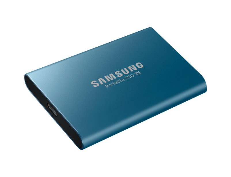 SAMSUNG SSD 500GB T5 extrenal SSD Blue