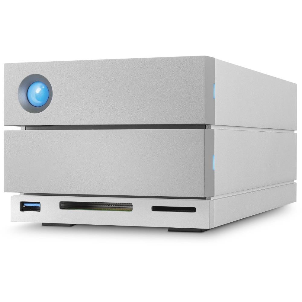 External HDD|LACIE|8TB|USB 3.1|Thunderbolt|Silver|STGB8000400