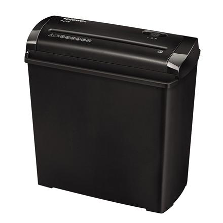 Fellowes Shredder P-25S Black, 11 L, Paper shredding, Paper handling standard/output 7mm strips, security level P-2, Traditional
