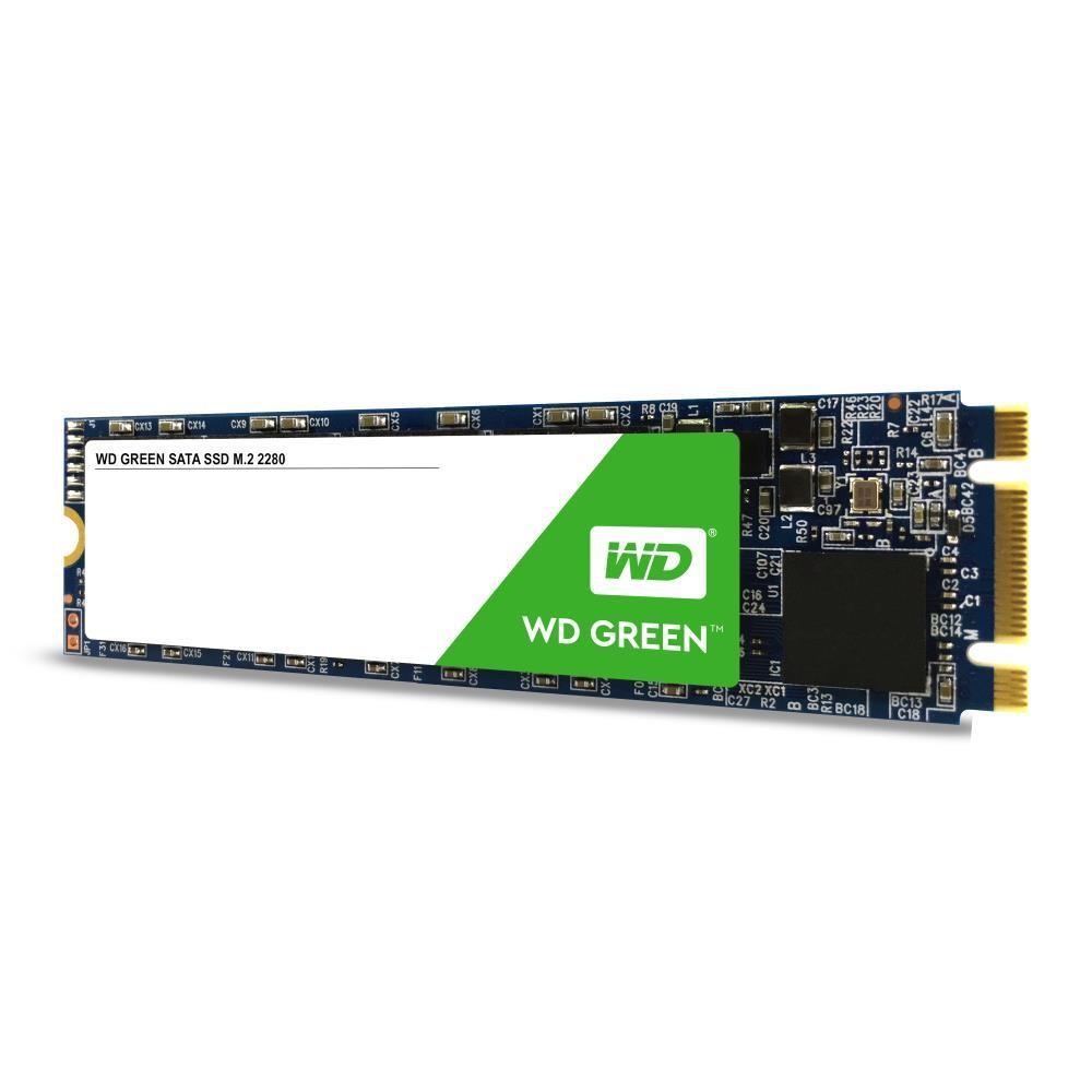 SSD|WESTERN DIGITAL|Green|120GB|M.2|SATA 3.0|Read speed 545 MBytes/sec|MTBF 1000000 hours|WDS120G2G0B