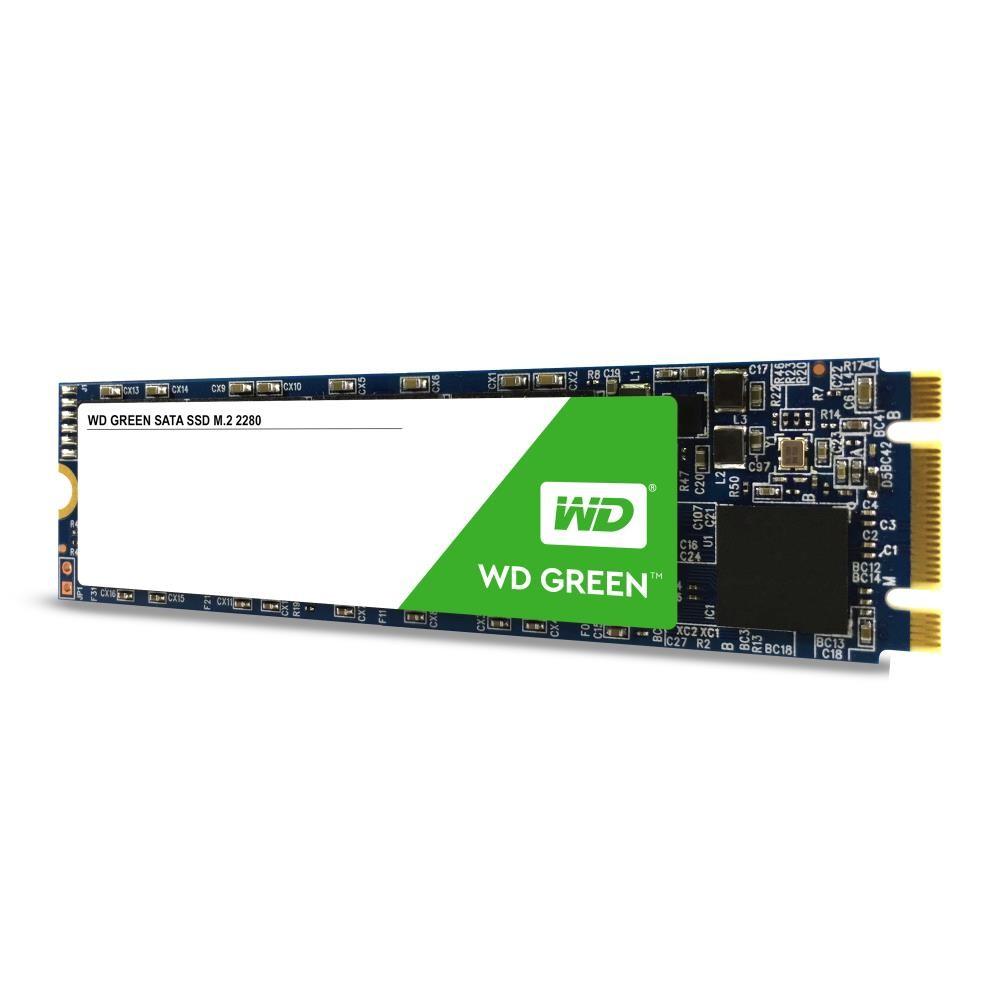 SSD|WESTERN DIGITAL|Green|240GB|M.2|SATA 3.0|Read speed 545 MBytes/sec|MTBF 1000000 hours|WDS240G2G0B