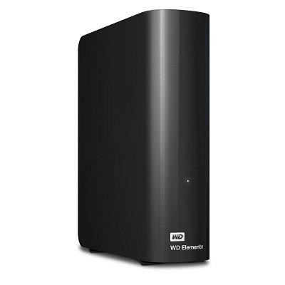 External HDD|WESTERN DIGITAL|Elements Desktop|4TB|USB 3.0|Black|WDBWLG0040HBK-EESN