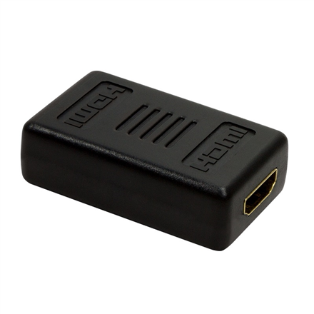 Logilink Adapter for 2x HDMI connection cable: HDMI 19-pin female, HDMI 19-pin female