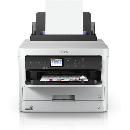 Epson Printer WF-C5210DW Colour, Inkjet, Printer, A4, Wi-Fi, Grey/ Black