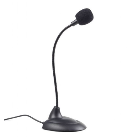 Gembird Desktop microphone MIC-205 Black, 3.5 mm