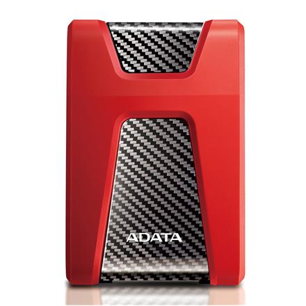 "ADATA HD650 2000 GB, 2.5 "", USB 3.1 (backward compatible with USB 2.0), Red"