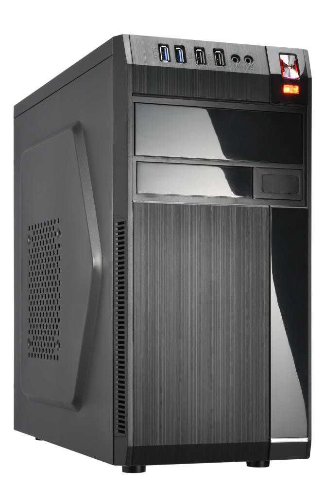 Case|GOLDEN TIGER|Baltimore 530|MiniTower|450 Watts|MicroATX|Colour Black|BALTIMORE5302USB2450W