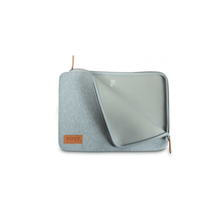 """Port Designs Torino Fits up to size 15.6 """", Grey, Sleeve"""