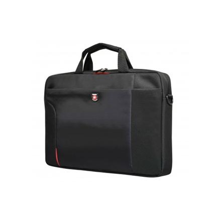 """Port Designs Houston Fits up to size 15.6 """", Black, Shoulder strap, Messenger - Briefcase"""