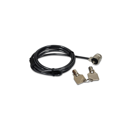 PORT CONNECT Keyed Security Cable Lock 136 g, 1.8 m