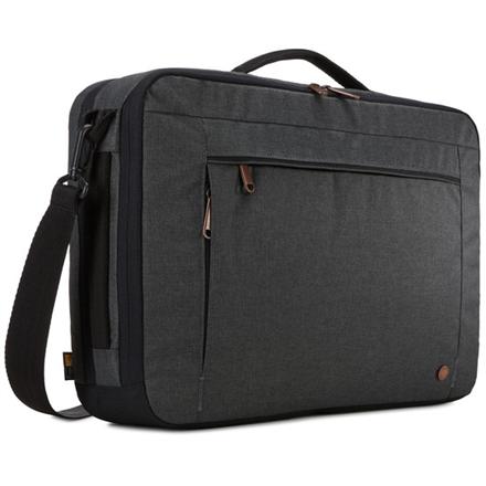 """Case Logic Era Hybrid Briefcase Fits up to size 15.6 """", Black, Messenger - Briefcase/Backpack, Shoulder strap,"""