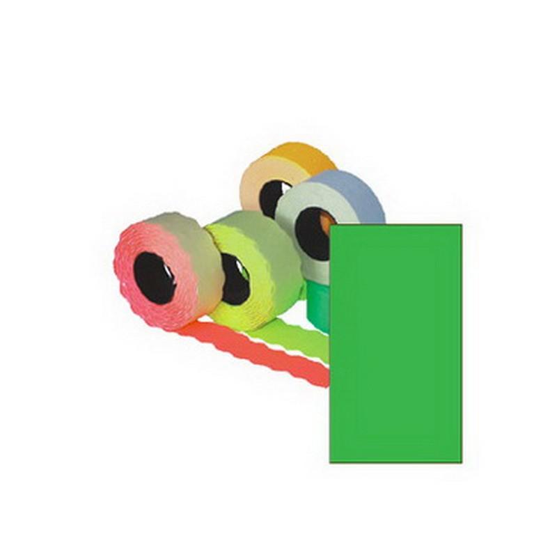 Markeerimislindid 26x16mm, roheline/kandiline, 5 tk