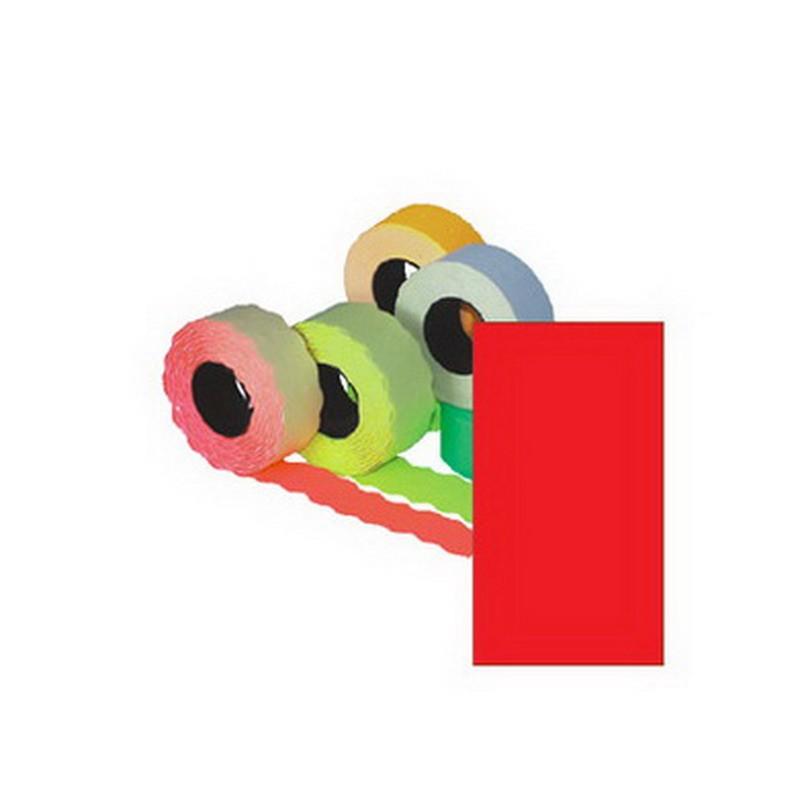 Markeerimislindid 26x16mm, punane/kandiline, 5 tk