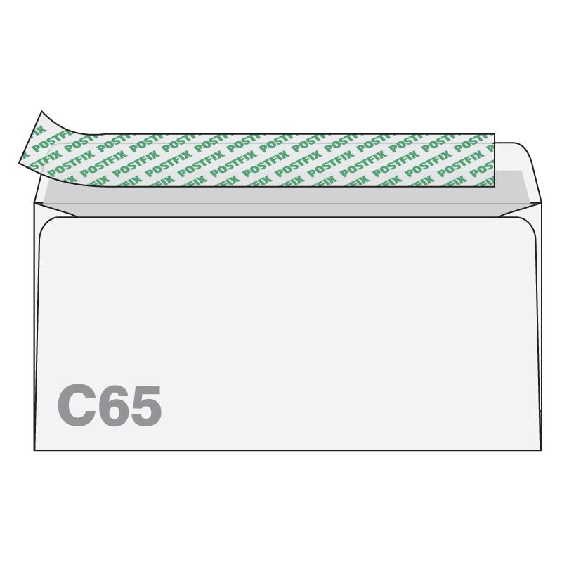Ümbrikud Postfix C65 RH 114 x 229mm,  1000tk