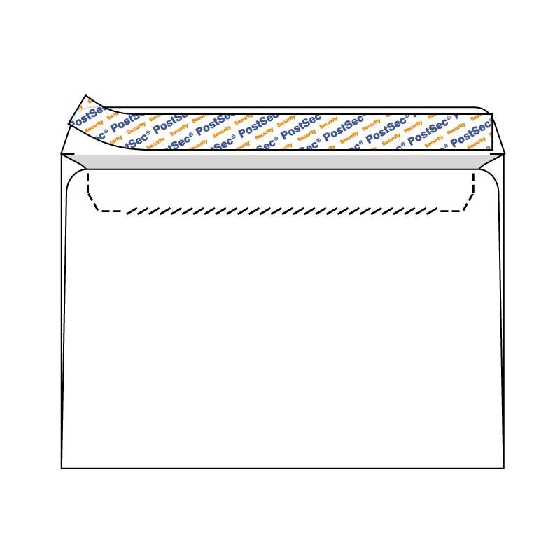 Ümbrikud PostSec ST C4 AH 229x324, 500tk